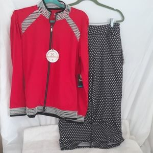 NWT TAIL Womens Golf Outfit  Set Jacket & …